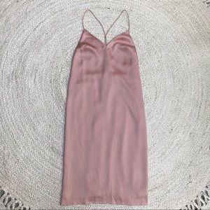 NWT Cotton Candy Open Back Sheath Slip Dress